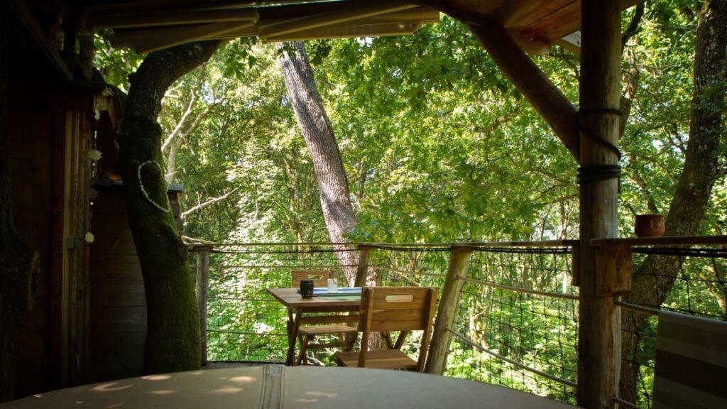terrasse cabane pays basque