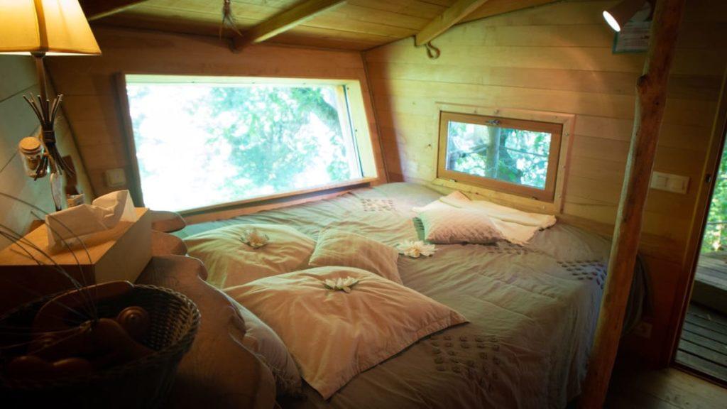lit cabane au pays basque