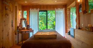 massage à Tarnos dans cabane